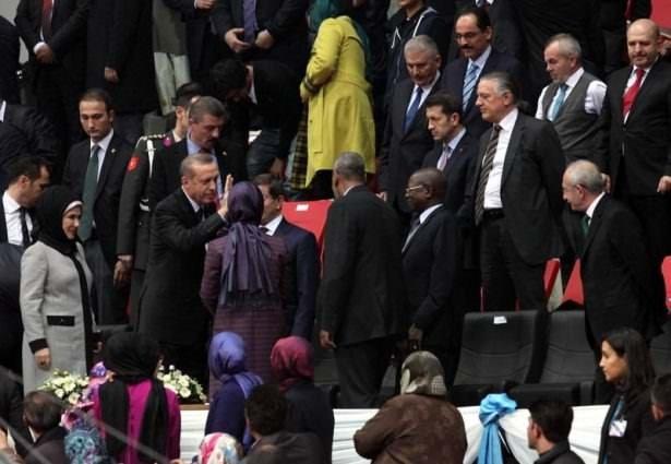 Konya'daki Şeb-i Arus töreninden ilginç karaler