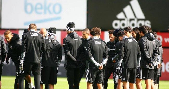Beşiktaş antrenmanında 7 genç isim