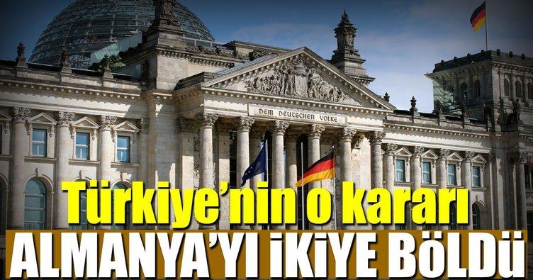 Türkiye'nin o kararı Almanya'yı ikiye böldü