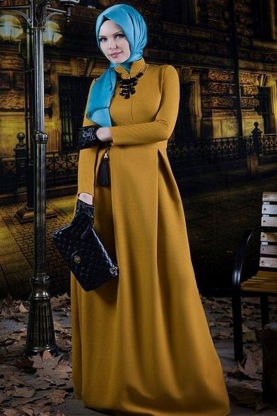 2014'ün sonbahar-kış tesettür giyim trendleri