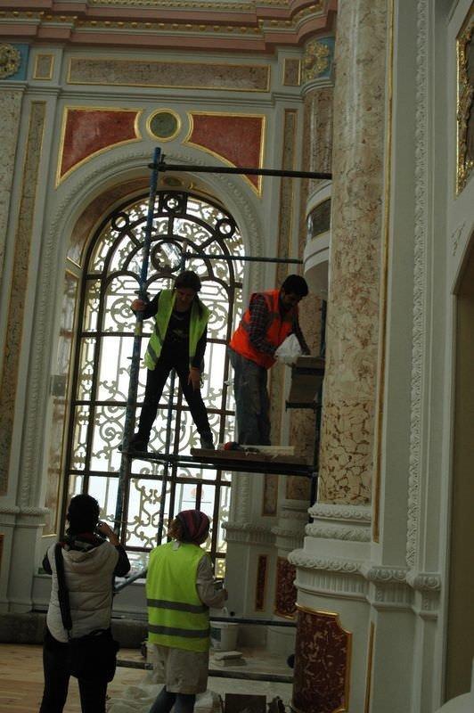 Tarihi Ortaköy Camisi yeniden ibadete açılıyor