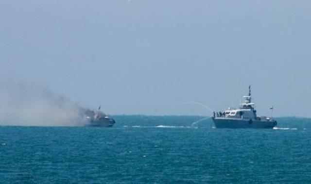 Işid bu kez donanmaya saldırdı