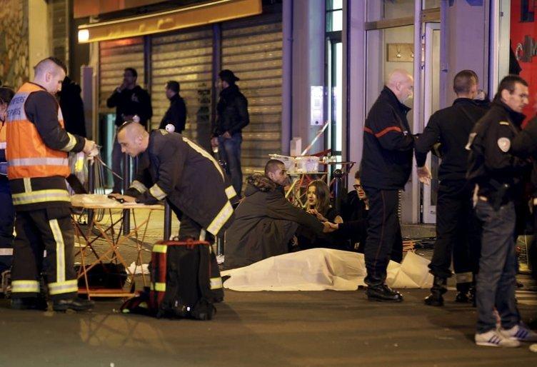 Ünlü isimler Paris'teki terör saldırısını lanetledi