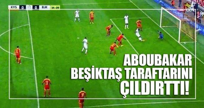 Aboubakar Beşiktaş taraftarını çıldırttı