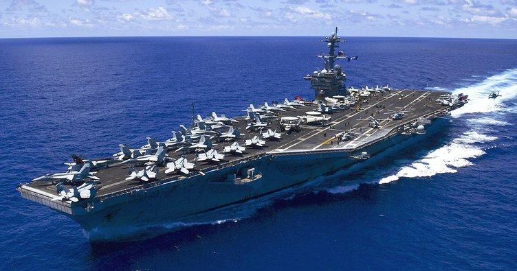 Pentagon'dan Carl Vinson Uçak Gemisi açıklaması!
