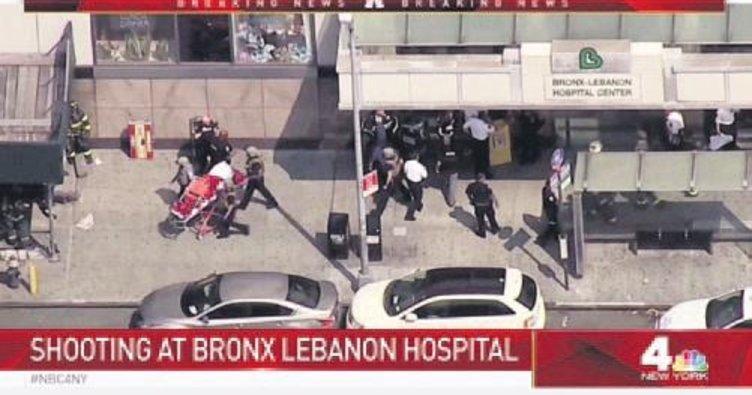 New York'ta hastanede dehşet: 6 yaralı