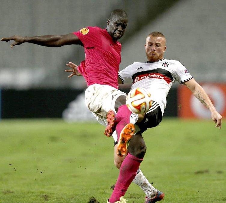 Beşiktaş - Asteras maçının fotoğrafları