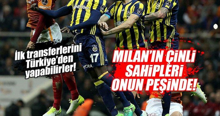 Milan'ın Çinli sahipleri Fenerbahçeli yıldızın peşinde!