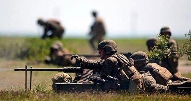 Hakkari Han Tepe'de 4 PKK'lı öldürüldü