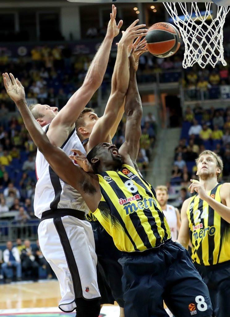 Fenerbahçe-Brose Bamberg maçından kareler