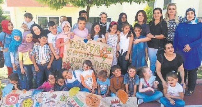 AK Partili kadınlar çocuklarla buluştu