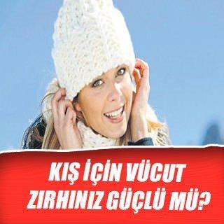 Kış için vücut zırhınız güçlü mü?