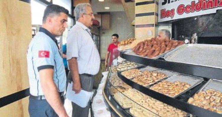 Tarsus'ta fırınlar denetlendi