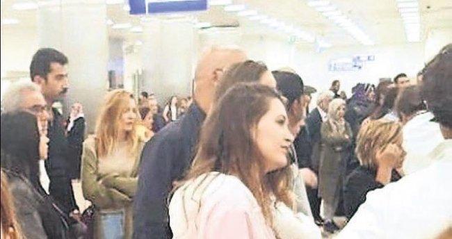 Havalimanında uzun bekleyiş