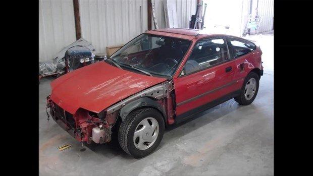 Bakın Honda aracı nasıl yenilediler