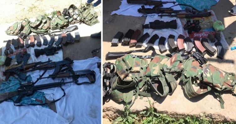 PKK'lı teröriste ilaç kutusundan ulaşıldı