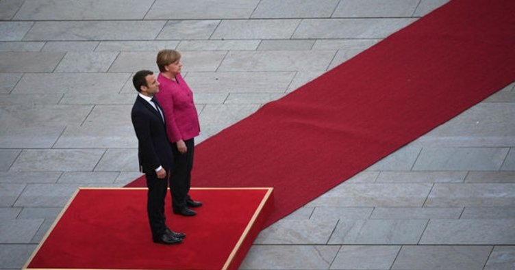 Merkel ve Macron görüştü