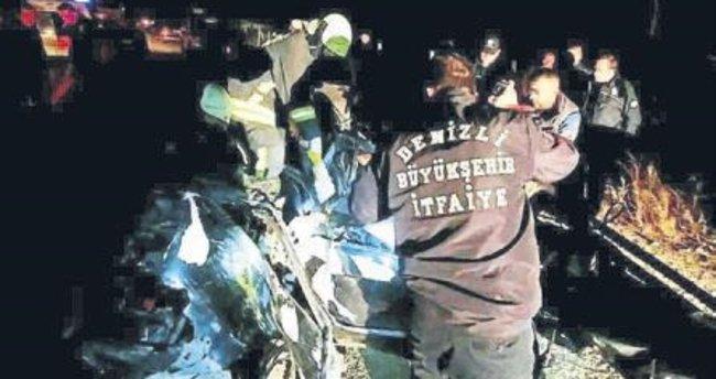 MHP'li Başkaya'nın oğlu kazada öldü