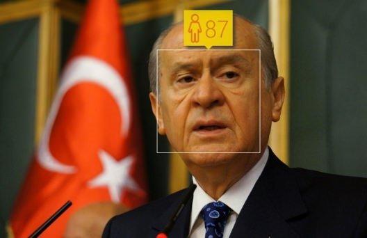 Microsoft'a göre Türk siyasilerin yaşı