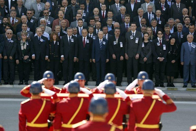 Nevzat Kösoğlu'nu devletin zirvesi uğurladı