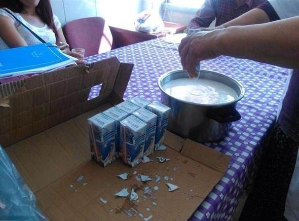 Okul sütü öğretmenlere yoğurt ve sütlaç olmuş