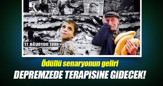 17 Ağustos depreminin senaryosu ödül aldı