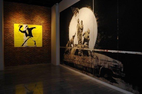 Sümeyye Erdoğan Banksy'nin dünya prömiyerine katıldı