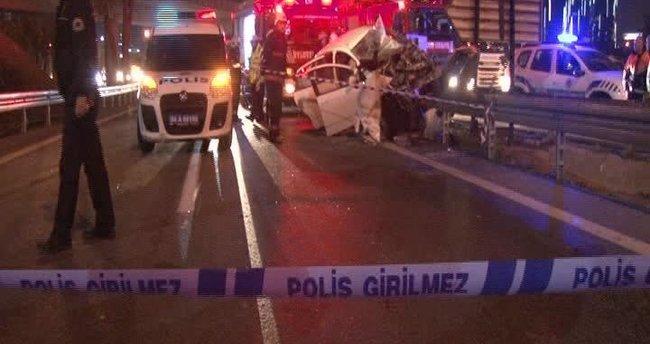 İstanbul'da feci kaza: 2 ölü 2 yaralı