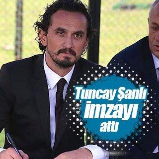 Tuncay Şanlı Sakaryaspor'a imzayı attı