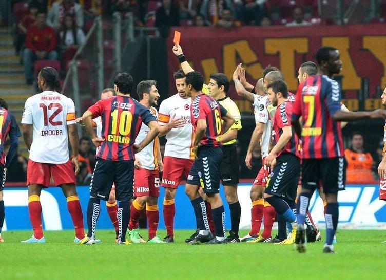 Galatasaray - Mersin İ.Y. maçından kareler