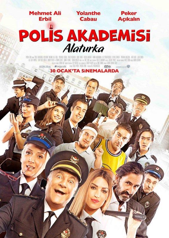 Polis Akademisi: Alaturka filminden kareler