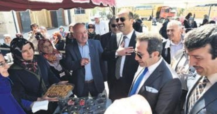 Başkan Akgül'den kermes ziyareti