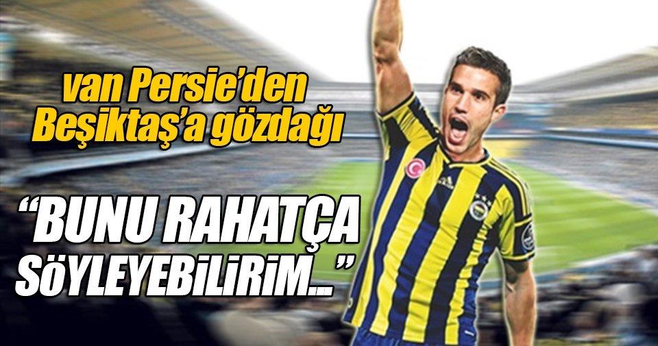 Van Persie Beşiktaş'a mesaj yolladı!