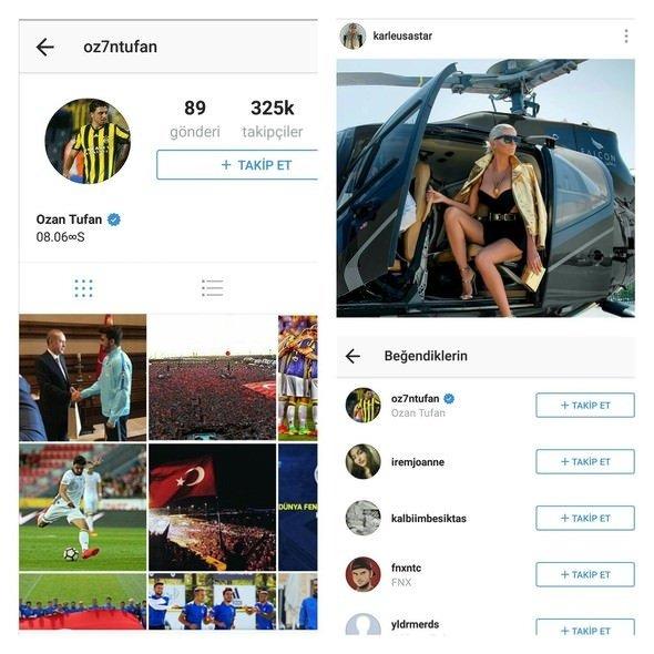 Ozan Tufan, Instagram hesabını kapattı