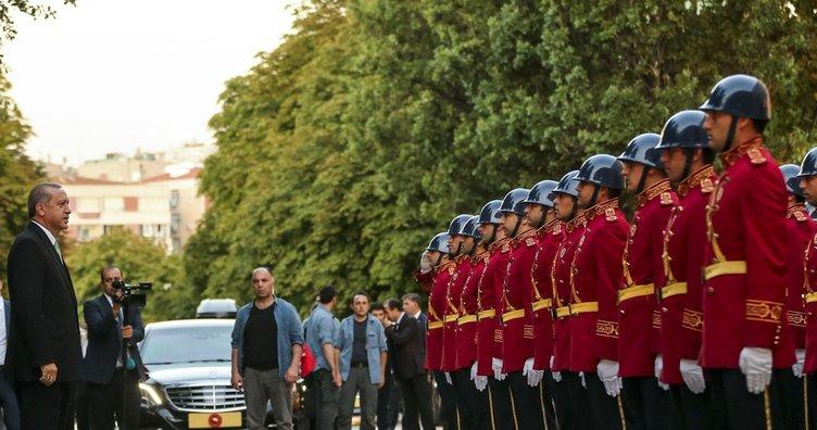 Erdoğan TBMM'de incelemelerde bulunmak üzere Meclis'e gitti