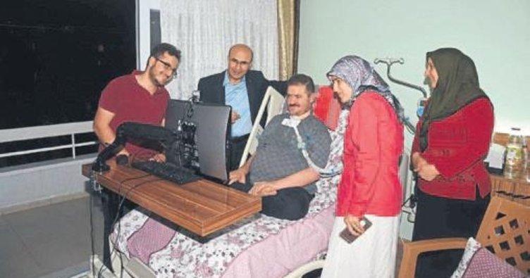Vali Demirtaş'tan ALS hastasına ziyaret