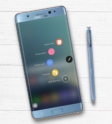 Samsung Note 7 tekrar satışta