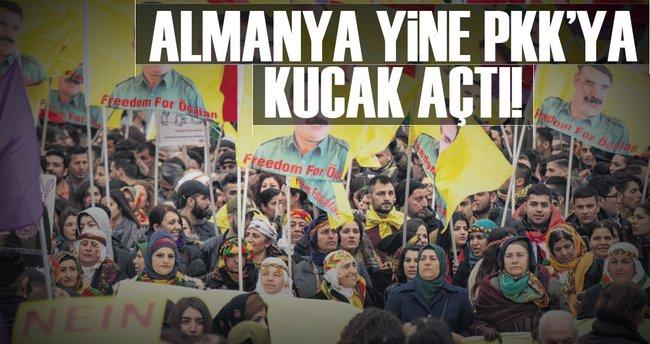 Almanya yine PKK'ya kucak açtı
