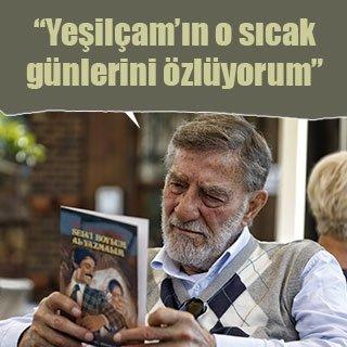 """Yeşilçam'ın """"şefkatli jönü"""" Ahmet Mekin geçmişe özlem duyuyor"""