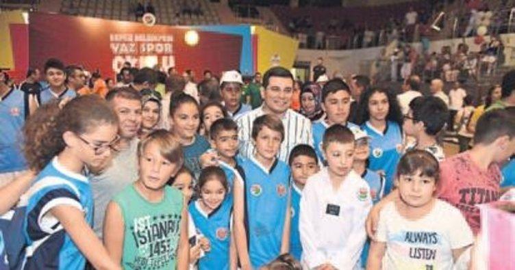 3 bin 500 çocuk spor yapmaya başlıyor