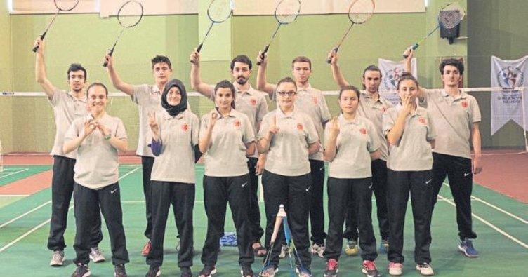 Mersin'de engelliler olimpiyatlarına hazırlanıyorlar