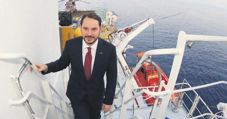 Akdeniz'de sondaj müjdesi