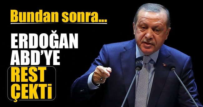 Erdoğan: Bundan sonra ABD'ye kimseyi vermeyeceğiz