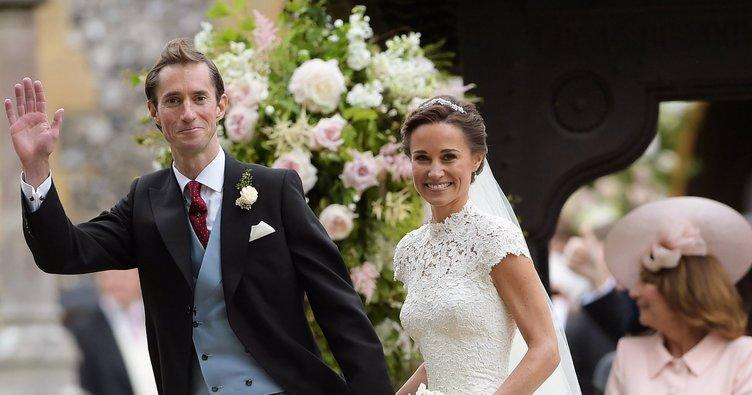 Pippa Middleton'ın elbisesi Türk tasarımcıdan