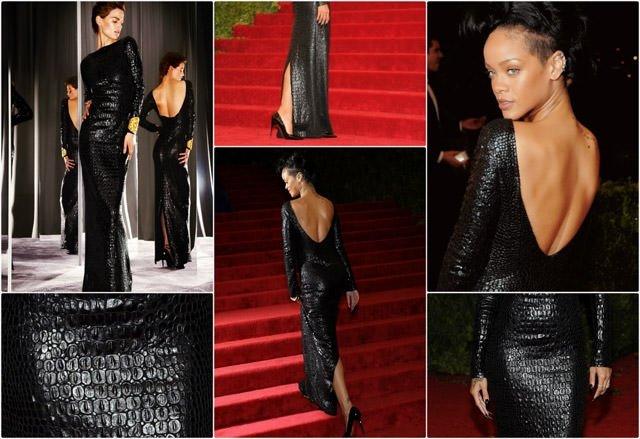 Rihanna'nın en güzel 10 kırmızı halı elbisesi