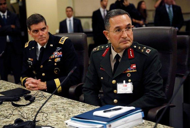 Komutanların IŞİD mesaisi