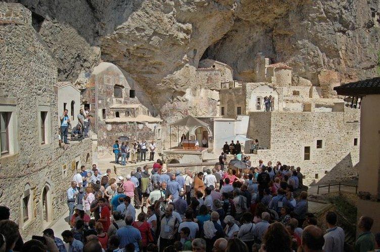 Sümela Manastırı'nda 5. ayin