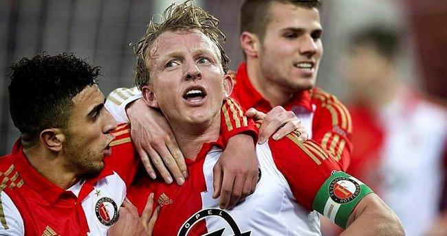 Feyenoord, İstanbul'a geldi