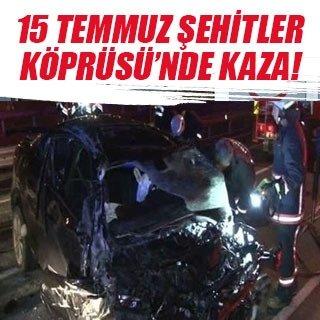 İstanbul'da trafik kazaları: 6 yaralı