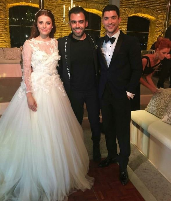 Ezgi Eyüboğlu ile Kaan Yıldırım evlendi